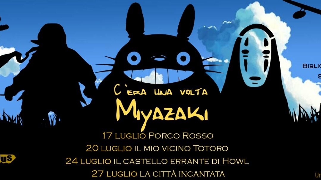 C'era una volta Miyazaki, cineforum